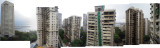View from Cuffe Parade, Bombay (July 23, 2013)