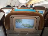 The flight from Jakarta to Yogyakarta