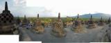 Top level of Borobudur