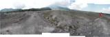 Lava path of Mt. Merapi's 2010 eruption