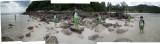 At the Le Meridien resort's beach in Phuket, Thailand