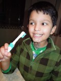 Fun with toothpaste