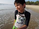 On the Kerala beach