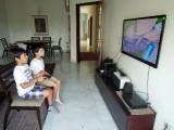 With best friend Sachin