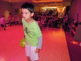 Birthday party bowling