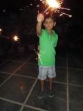 Diwali on the terrace