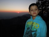 Sunset from Landour