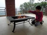 Terrace fire