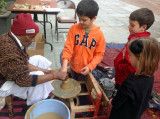 Learning about pottery