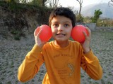 Playing bocce in Dehradun