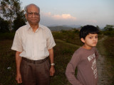With Nanu and a full moon