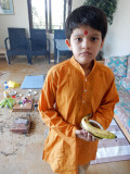 After the puja