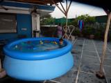 Break out the terrace pool
