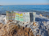Three Small Books visit the Dead Sea and are joined by Six Other Small Books in November of 2015