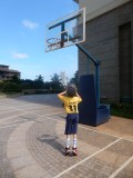 Shooting some hoops