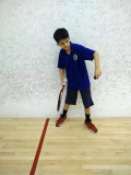 Squash player!