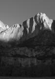 A dry Yosemite Falls