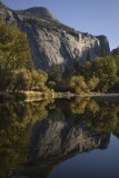 North Dome and the Merced river