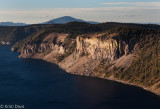 Eastern shore of Crater Lake