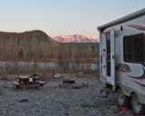 Squirrel Creek Campground - nice views, bad mosquitoes