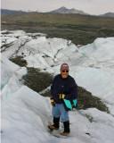 Bob at Matanuska Glacier