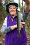 My first Dolly Varden, not big, but delicious