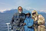 Kenai Fjords tour - Steve, Mary Helen, Carol