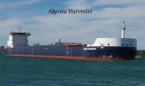 Algoma Harvester loaded
