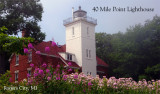 40 Mile Point Lighthouse spring