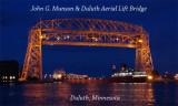 Duluth Ariel Lift Bridge & John G. Munson night