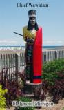 Chief Wawatam Statue