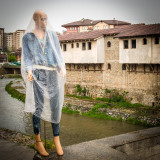 Mannequin in the rain, Old Bazaar