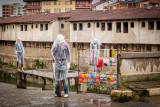 Mannequins in the rain, Old Bazaar