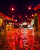 Bazaar at night