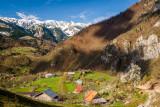 Drelaj Village from above