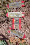 Hiking and biking trails in Malaj