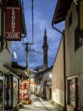 Çarshia (bazaar) by night