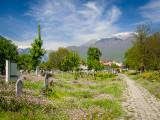 Cemetery in Peja