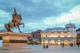 Skenderbeg Statue