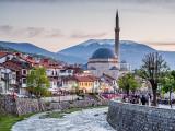 Prizren centre at dusk