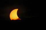 Eclipse and Large Sunspot Group