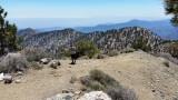 On The Summit of Mount Hawkins