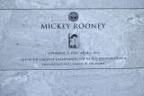 Hollywood Forever Cemetery - Mickey Rooney