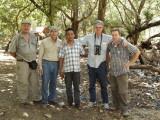 Peter, Rick, driver, Colin, Stijn