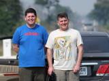 Robbie and Ian Hampton