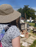 Anna - watching the kiln