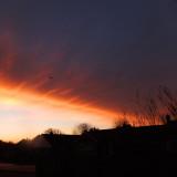A fine morning sky