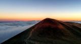 Mauna Kea summit twilight