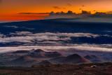 Mauna Kea summit at twilight