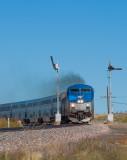 AMTK 9 Train 3 Las Vegas NM 01 Oct 2013